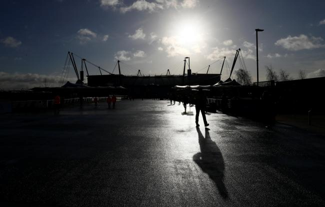The Hammers' trip to the Etihad Stadium will have to be rearranged. Picture: Action Images