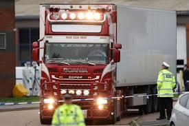 39 Vietnamese people, including ten teenagers, were found dead in a lorry in  Grays on Wednesday, October 23