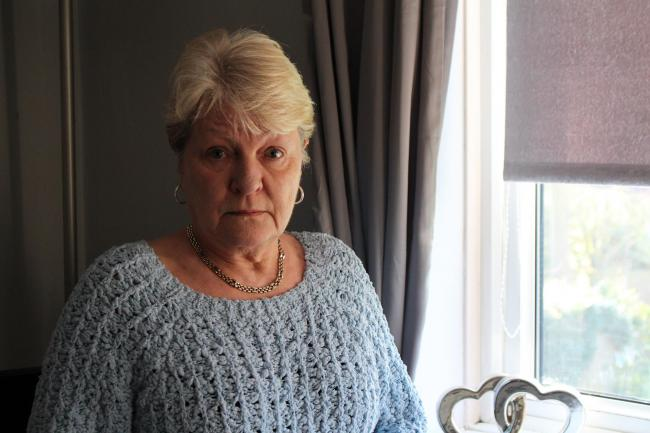 Anne Hudgell, 64, has battled a mould infestation in her council flat in Oakhill Court for four years. Photo: Lewis Berrill