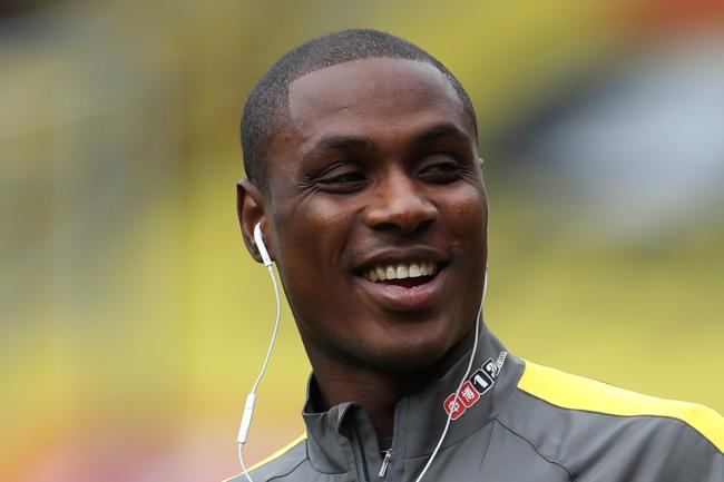 Ighalo has been training away form Carrington
