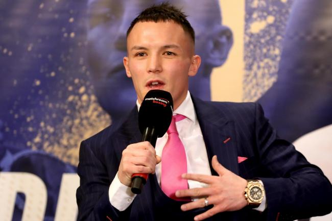 Josh Warrington wants to unify the world featherweight titles