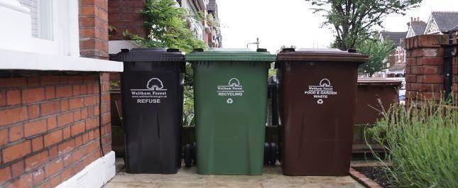 Over 75 per cent of households' bin collection days are about to change. Photo: Waltham Forest Council