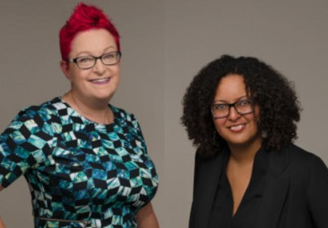Mandu Reid (right) will replace Su Black (left) as the candidate (Photo: Women's Equality Party).