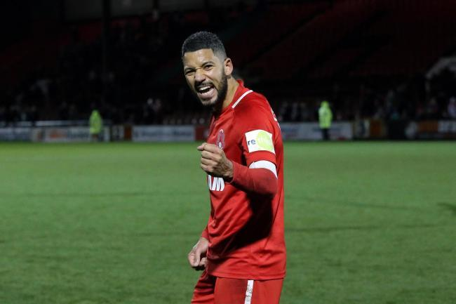 Jobi McAnuff trained with the Leyton Orient team on Friday. Picture: Simon O'Connor