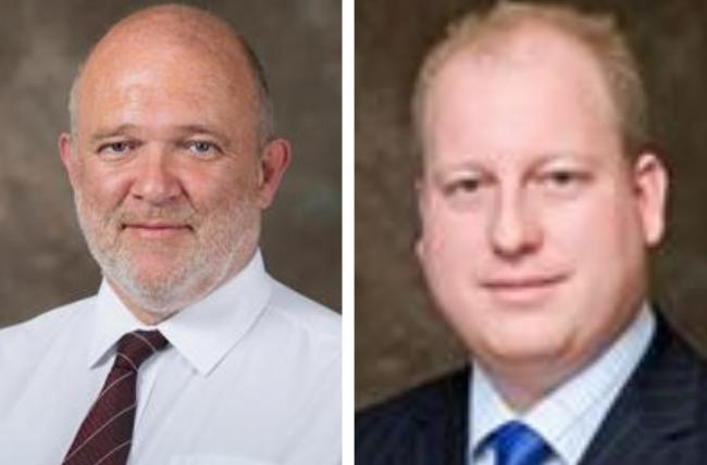 Cllr Mark Ingall and Cllr Andrew Johnson issued a joint coronavirus statement. Photo: Harlow Council