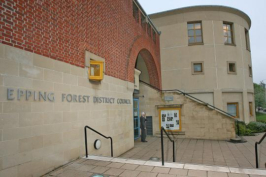Planning applications are submitted to Epping Forest District Council
