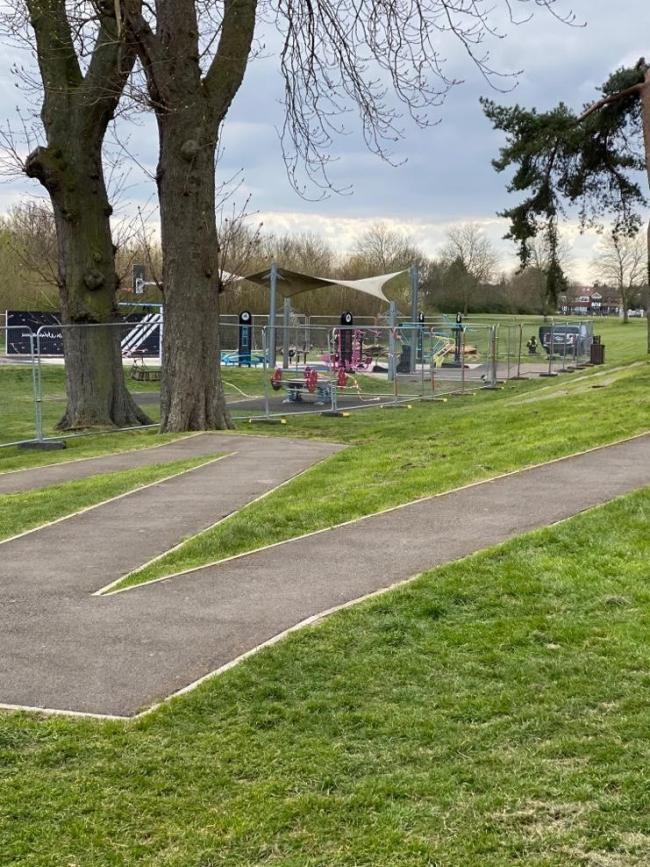 Redbridge Council has fenced off playgrounds and outdoor gyms after residents continued to use them