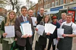 Opponents of the new Tesco Express store in Wanstead will hold a protest outside the branch today