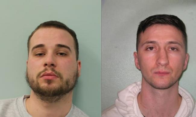 Police want to trace Jeton Krasniqi and Mirsad Brahimi in relation with the fatal shooting of Grineo Daka. Photo: Met Police