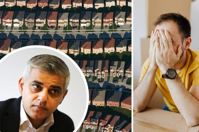 Sadiq Khan warns asking landlords and tenants to decide on rent repayment is 'unrealistic'.