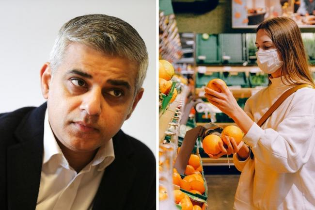 "Sadiq Khan said the Prime Minister ""can't afford to wait another day"" to make masks mandatory in shops."