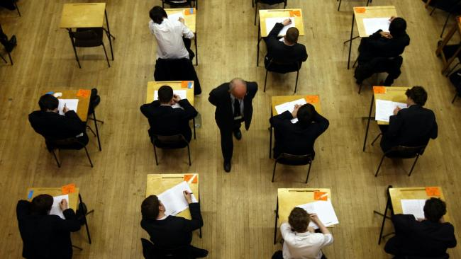 Thousands of pupils will receive their A-level and GCSE results this month after exams were cancelled. Photo: PA