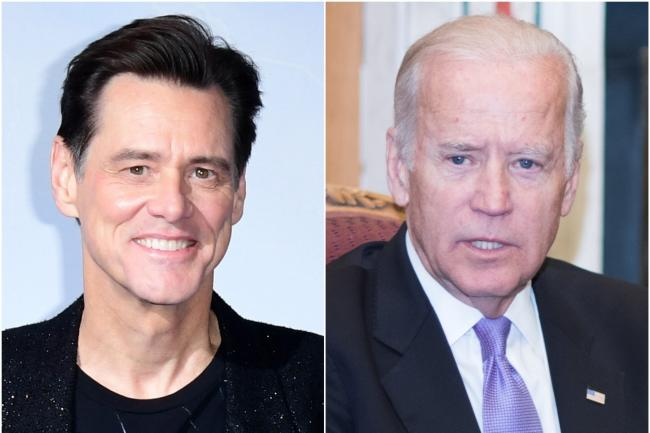 Jim Carrey to play Joe Biden on Saturday Night Live