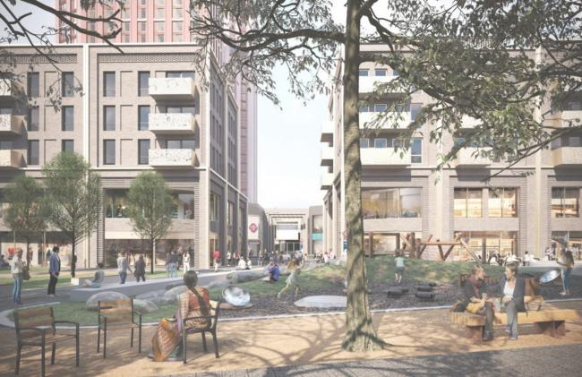 An artist's impression of the Mall redevelopment (Capital & Regional)