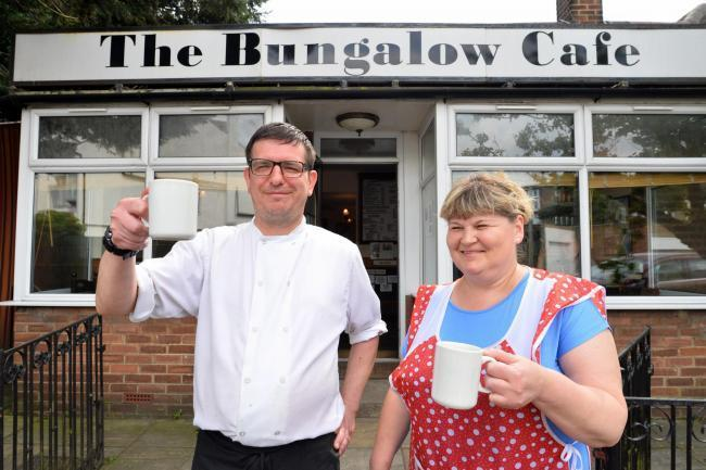 Mr Nicola and the Bungalow Cafe (Archive photo)