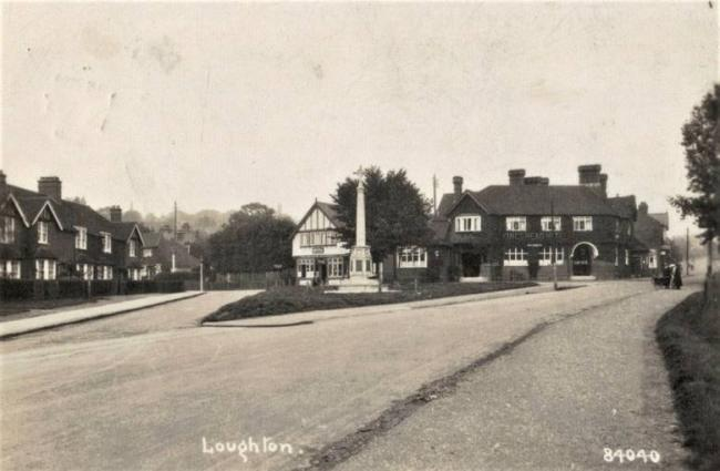 A view of Kings Green from the early 1900s