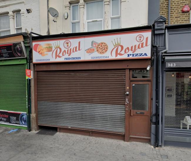 Royal Chicken and Pizza on Hoe Street