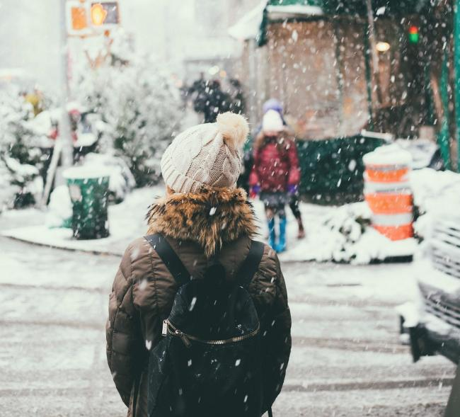 Bookies have slashed the odds of a white Christmas this year. Photo: Unsplash