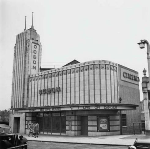 The Odeon in South Chingford opened in 1935. Photos; Gary Stone - Chingford Historical Society