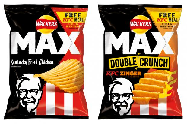 East London and West Essex Guardian Series: Walkers launch KFC flavoured crisps. (Walkers)