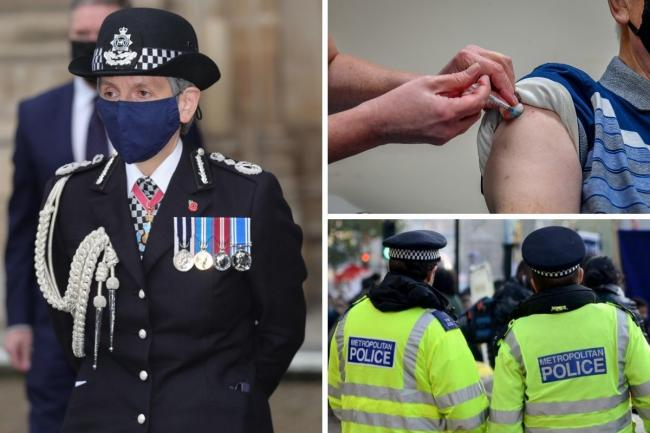 Cressida Dick has said frontline police officers should be considered for vaccination priority after the most vulnerable are immunised. Credit: PA/Newsquest