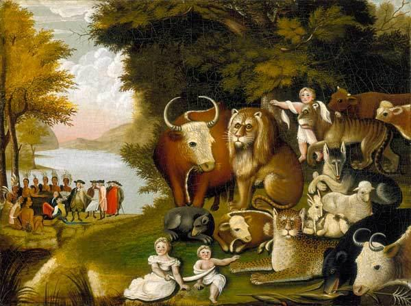 East London and West Essex Guardian Series: The Peaceable Kingdom. Credit: Brooklyn Museum