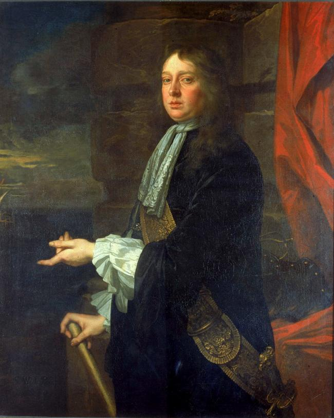 Admiral Sir William Penn in 1665. Credit: National Maritime Museum, Greenwich, London, Greenwich Hospital Collection