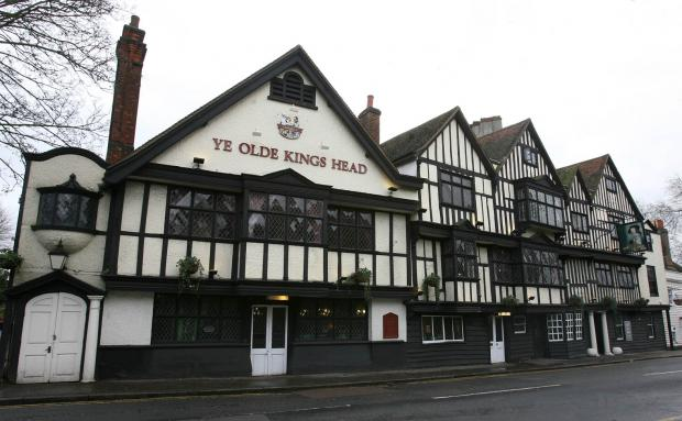 Ye Olde King's Head in Chigwell now houses Turkish restaurant Sheesh