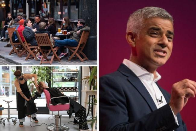 Businesses can start reopening from April 12, but Sadiq Khan has said this must be the final lockdown that they face. Credit: PA