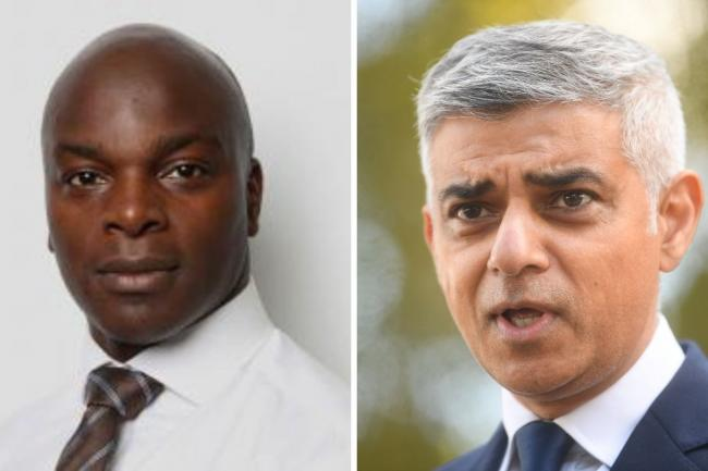 Shaun Bailey has clashed with his mayoral rival Sadiq Khan over claims about a £70 million job scheme. Credit: GLA/PA