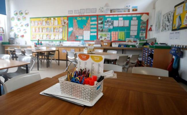 A higher proportion of children who receive free school meals were absent in March. Photo: Radar