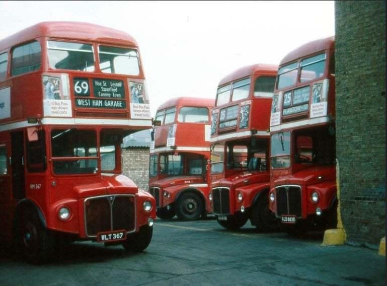West Ham Garage, 1977