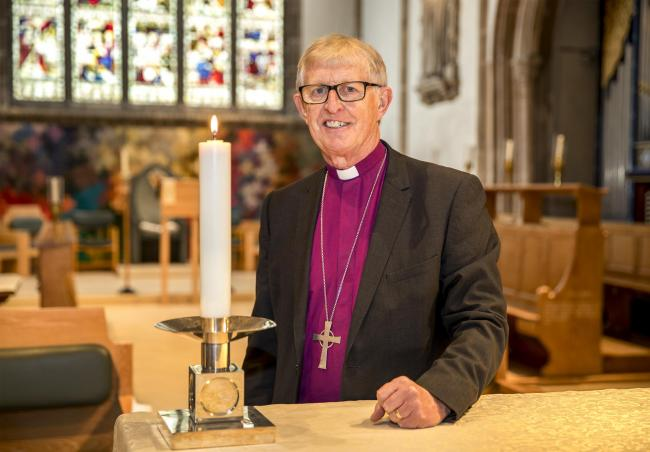 The Right Rvnd Peter Hill, Bishop of Barking