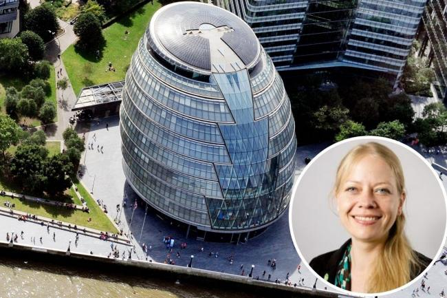The Green Party's Sian Berry has outlined her plans for London if elected mayor in May. Credit: PA/GLA