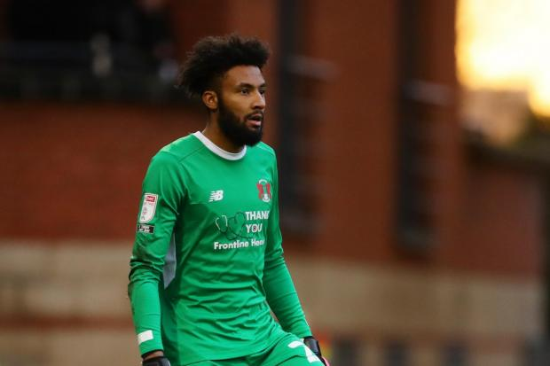 Leyton Orient goalkeeper Lawrence Vigouroux PIcture: PA