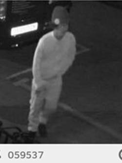Police are looking for this man to question him in connection with an aggravated burglary. URN 059537. Photo: Met Police