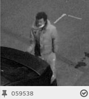 Police are looking for this man to question him in connection with an aggravated burglary. URN 059538. Photo: Met Police