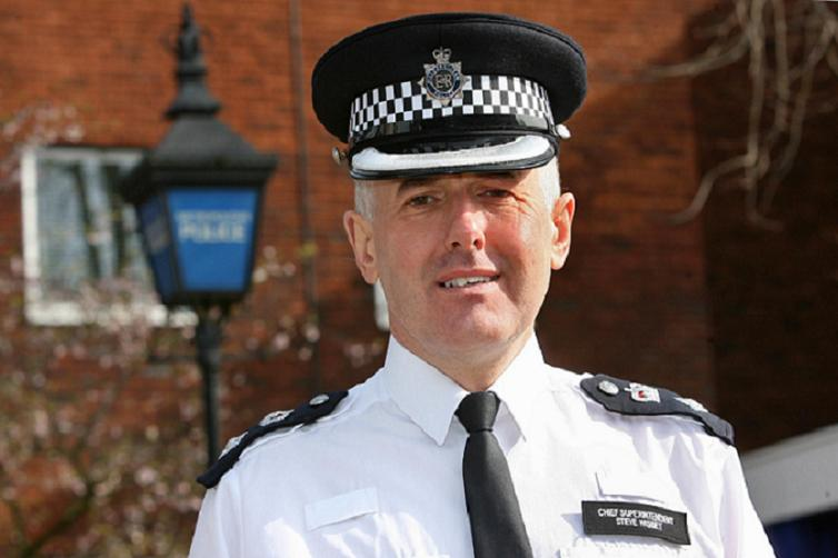 Chief Supt Steve Wisbey at Chingford Police station today