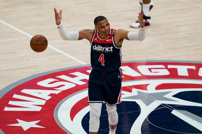 Washington Wizards guard Russell Westbrook