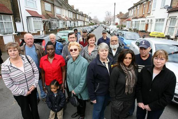 Residents in George Road, Chingford, say their views have been ignored
