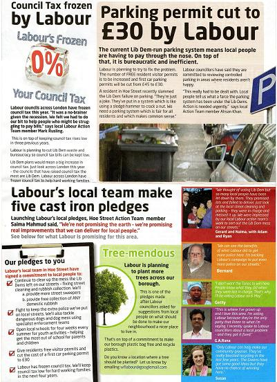 WALTHAM FOREST: Labour slammed for 'stealing' blogger's photo
