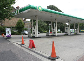WALTHAM FOREST: Protesters shut down BP garages