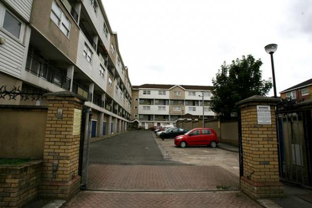 The Marlowe Road estate.