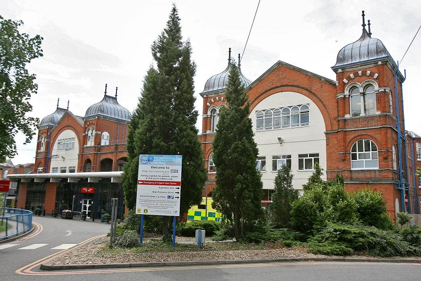 Whipps Cross Hospital in Leytonstone.