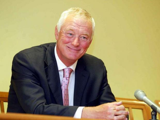 Leyton Orient chairman Barry Hearn.