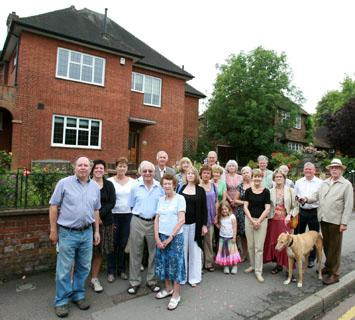 Residents are campaigning to establish a conservation area in Queens Road