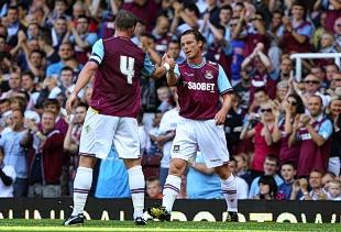 Kevin Nolan hopes Scott Parker will stick with the Hammers: Rob Newell/TGSPHOTO