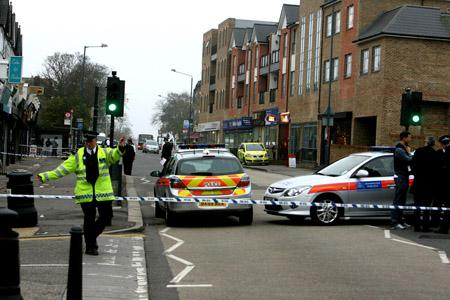 East London and West Essex Guardian Series: WOODFORD GREEN: Shock at High Road shooting