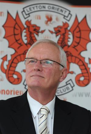 O's chairman Barry Hearn is in talks to sell his shareholding in the club. Picture: Action Images