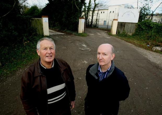 Charles Price and Mike Palfreman on the potholed path to Haven House